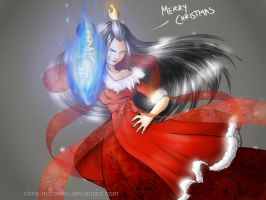 Azula - Merry Christmas by AmandaTaylorArt