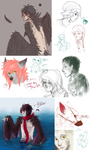 Doodle Dump by Vuohii