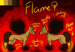 Flame Reference Sheet by ChemicallyColorful