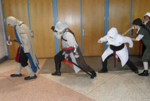 Metrocon 2012: Assassin's Creed - Dino Walk by Cynuyasha