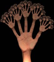 Fractal of my scanned hand by Radijs-Dalfo
