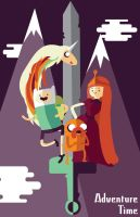 Adventure Time Poster by FantasySystem