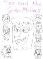 Tea and the Seven Mobians by adamRY