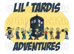 Lil' TARDIS Adventures Art by DrOfDemonology