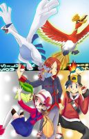 Pokemon HeartGold SoulSilver by Jennax3