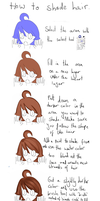 Hair shading tutorial by flashsteps