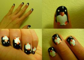 Penguin Fingernails by tansoles
