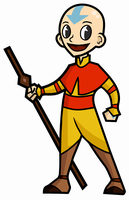 1950'S Retro Aang by Booter-Freak