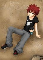 Gaara - Lonely Mr. Sandman by Klamsi