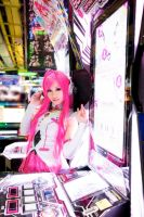 Lasys_Sound Voltex Booth by AMPLE-COSPLAY