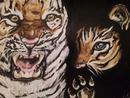 save tigers by MJNx