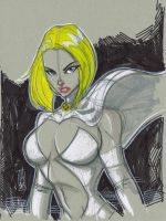 Emma Frost, The White Queen by Hodges-Art