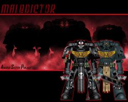 Maledictor Space Marines by The-First-Magelord