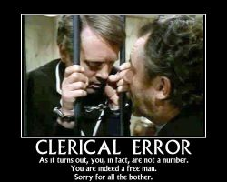 Clerical Error by Scavgraphics