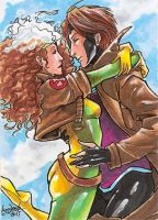 Commission: Rogue+Gambit PSC1 by skardash