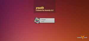 Youth - Launchy Skin by creative-youth