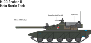 IRS M100 Archer II MBT by Target21