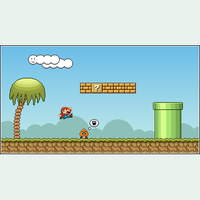 Mario Tribute by a0x