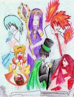 7 Deadly Sins by skerpandoodles