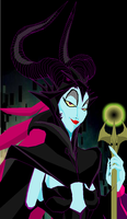 Maleficent by Tyrranux
