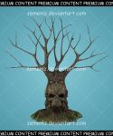 Creepy Trees 005 - Premium Content by zememz