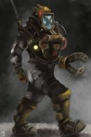 Diving Suit by Bjulvar