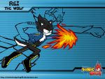 Rei The Wolf - Sonic Battle Style by AleTheHedgehog99