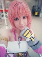Serah Farron FFXIII-2 Cosplay close up by MiyuDoLLy