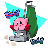 Kirby and Kirby by Nintendrawer