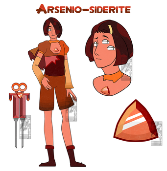 Arseino-Siderite by Inochi-PM