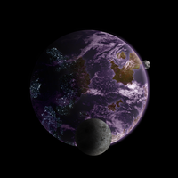 Planet Purple by Parasky
