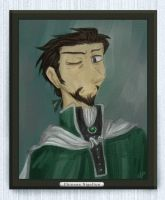 HP - Phineas Nigellus portrait by andrael