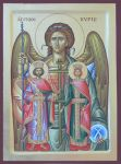 Angel of the Lord + St. Constantine and St. Elena by logIcon