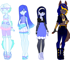 Monster High Adopts [CLOSED] by Death2Eden