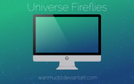 Universe Fireflies by WanMudD