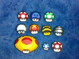 Hama Shrooms normal and custom by tony-boi