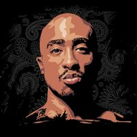 Tupac Shakur by Tecnificent