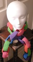 Child's Link Scarf 2 by pretending2bme