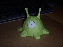 Brain Slug papercraft by rideaseeker629