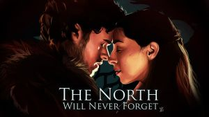Game of Thrones Robb and Talisa Stark by Den2Cypher
