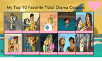 Top 10 Total Drama Couples by coralinefan4ever