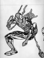 Spider-man Inked by Rizeystyle