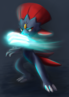 Weavile by Agui-chan