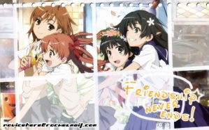 Railgun - Friendship by novicehere