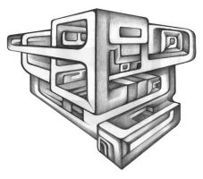 Cubic perspective by farboart