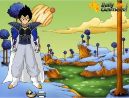 Vegeta wants to look like this by systemofahedgehog