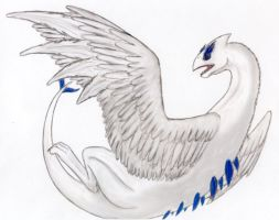 Realistic Lugia by EarthGwee