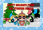 The Utonium Family Christmas Card by Death-Driver-5000