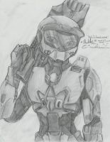 Girl master Chief. by Hahli1994