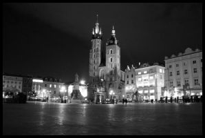 Cracow by night 7 by kazzdavore